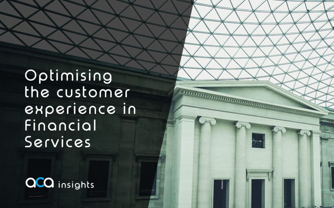 Optimising the customer experience in Financial Services: Less selling, more buying